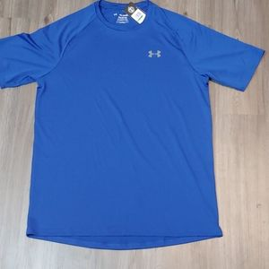 NWT UNDER ARMOUR MEN'S THE TECH TEE US L TALL